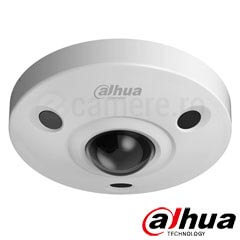 Camera IP Fisheye 6MP, Exterior, Microfon, Slot card, POE, IR 10m- Dahua EBW8600