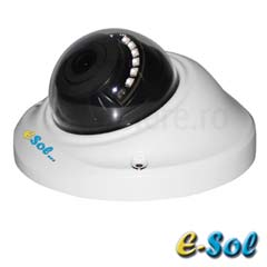 Camera Dome HDTVI, AHD, 3 MP, IR 20m, lentila 3.6 - e-Sol D300/20A