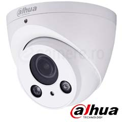 Camera exterior 4Mp, Zoom 4x, IR 60m, Auto-Focus, PoE, Card - Dahua IPC-HDW2421R-ZS