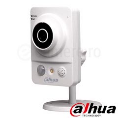 Camera IP wireless 1Mp, Interior, IR 10m, Microfon, Speaker si Slot Card- Dahua IPC-KW12W