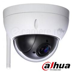 Camera IP 2MP Exterior, Wi-Fi, Zoom 4x, IR 30m, POE - Dahua SD22204T-GN-W