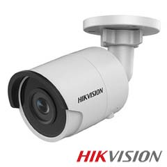 Camera IP Bullet 8 MP, Exterior, IR 30m, POE, Slot Card - HikVision DS-2CD2085FWD-I