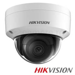 Camera IP Dome 8 MP, Exterior, IR 30m, POE, Slot Card - HikVision DS-2CD2185FWD-I
