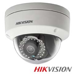 Camera IP Dome 4 MP, IR 30m, POE, Slot card, lentila 2,8 - HikVision DS-2CD2142FWD-IS