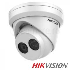 Camera IP Dome 5 MP, Exterior, IR 20m, POE, Slot Card - HikVision DS-2CD2355FWD-I