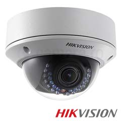 Camera IP Dome 1.3 MP, IR 30m, Varifocala, POE, Slot Card - HikVision DS-2CD2710F-I