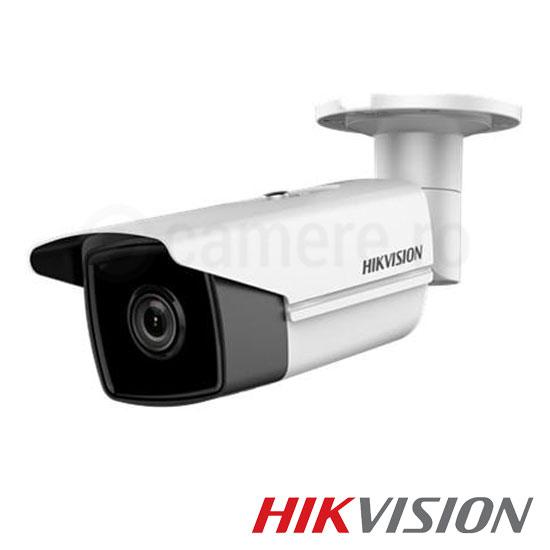 Camera ip 3 mp exterior ir 50m poe slot card lentila 2 8 hikvision ds 2cd2t35fwd i5 for Camere supraveghere exterior wireless