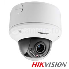 Camera IP Dome 2MP, Varifocala, IR 30m, POE, Slot Card - HikVision DS-2CD4312F-IZHS