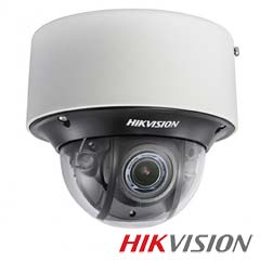 Camera IP Dome 2 MP, Exterior, IR 30m, POE, Slot Card - HikVision DS-2CD4D26FWD-IZS