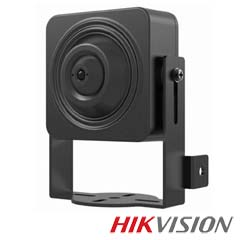 Camera mini IP Pinhole 1 MP, lentila 3.6 - HikVision DS-2CD2D14WD