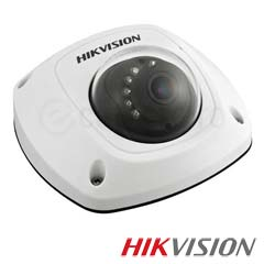 Camera IP Dome 4 MP, IR 10m, POE, Slot Card, Microfon  - HikVision DS-2CD2542FWD-IWS