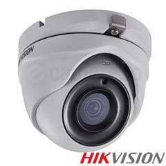 Camera Dome Turbo HD Exterior 3MP, IR 20m, lentila 2.8 - HikVision DS-2CE56F7T-ITM