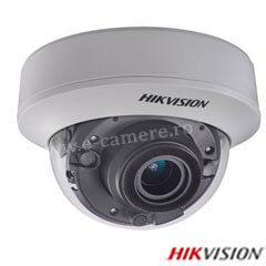 Camera Dome Turbo HD Exterior 3MP, Zoom 4x, IR 30m - HikVision DS-2CE56F7T-AITZ