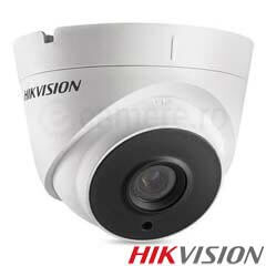 Camera Dome Turbo HD Exterior 3MP, IR 40m, lentila 2.8 - HikVision DS-2CE56F7T-IT3
