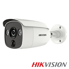 Camera 2MP Exterior, IR 20m, PIR, lentila 2.8 - HikVision DS-2CE12D0T-PIRL