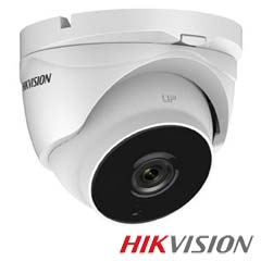 Camera 2MP Exterior, IR 40m, Zoom 4x, PoC - HikVision DS-2CE56D8T-IT3ZE