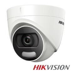 Camera 2MP Exterior, IR 20m, ColorVu, lentila 3.6 - HikVision DS-2CE72DFT-F