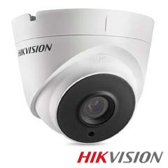 Camera 2MP Interior, IR 40m, lentila 2.8 - HikVision DS-2CE56D0T-IT3-2.8