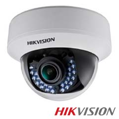 Camera 2MP Interior, IR 40m, varifocala - HikVision DS-2CE56D1T-VFIRF