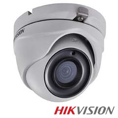 Camera 5MP Exterior, IR 20m, Zoom 4x - HikVision DS-2CE56H1T-ITME