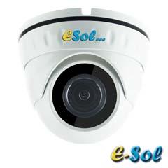 Camera 5MP Exterior, IR 20m, lentila 2.8 - e-Sol D500/20A