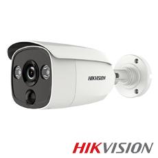 Camera 5MP Exterior, IR 20m, lentila 2.8 - HikVision DS-2CE12H0T-PIRL