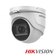 Camera 5MP Exterior, IR 40m, POC, Zoom 5x - HikVision DS-2CE56H0T-IT3ZE