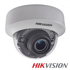Camera 5MP Interior, IR 40m, POC, Zoom 5x - HikVision DS-2CE56H0T-ITZE