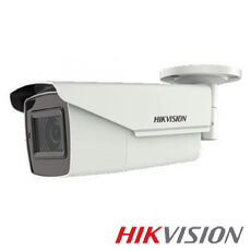 Camera 5MP Exterior, IR 40m, Zoom 5x - HikVision DS-2CE16H0T-AIT3ZF