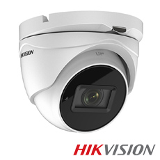 Camera 8MP Exterior, IR 60m, Zoom 5x - HikVision DS-2CE79U1T-IT3ZF