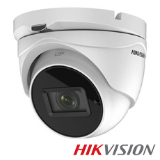 Camera 8MP Exterior, IR 60m, Zoom 5x - HikVision DS-2CE79U7T-IT3ZF