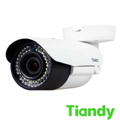 Camera IP 2MP, Exterior, IR 50m, POE, Slot Card, Zoom 4x - Tiandy TC-NC23MS