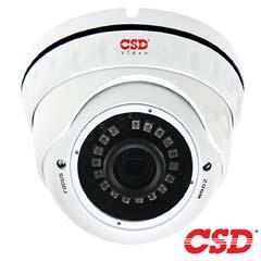 Camera Dome HDCVI, HDTVI, AHD, Varifocala, Exterior, IR 30m - CSD CSD-DNTHTC200FS