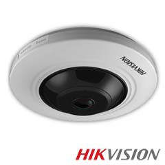 Camera FishEye HDTVI 5MP,Ir 20m, MIcrofon - HikVision DS-2CC52H1T-FITS