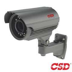 Camera HDCVI, HDTVI, AHD, Exterior, Varifocala, 2MP, IR 40m, - CSD CSD-IA4HTC200FS