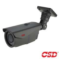 Camera Bullet 2MP, HDCVI, HDTVI, AHD, Exterior, IR 40m, Varifocala - CSD CSD-ID4HTC200FS