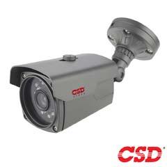 Camera Bullet 2MP, HDCVI, HDTVI, AHD, Exterior, IR 40m, Varifocala - CSD CSD-IV4HTC200FS