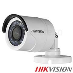 Camera Bullet Turbo HD Exterior 2MP, IR 20m, lentila 2.8 - HikVision DS-2CE16D0T-IRF