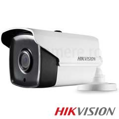 Camera Bullet Turbo HD Exterior 3MP, IR 80m, lentila 3.6 - HikVision DS-2CE16F7T-IT5