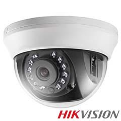Camera Dome HDTVI 1MP, IR 20m, lentila 2.8 - HikVision DS-2CE56C0T-IRMM