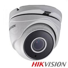 Camera Dome Turbo HD Exterior 2MP, IR 40m, Zoom 4x - HikVision DS-2CE56D7T-IT3Z