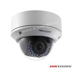 Camera IP Dome 5MP, Exterior, IR 30m, Zoom 4x, POE, Slot Card- HikVision DS-2CD2752F-IZS