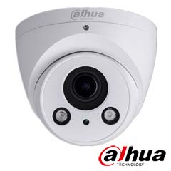 Camera IP 1MP Exterior, IR 60m, POE, Slot Card, Zoom 4x - Dahua IPC-T2A20-Z