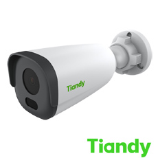 Camera IP 2MP Exterior, IR 30m, POE, lentila 4 - Tiandy TC-NCL214N