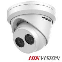 Camera IP 2MP Exterior, IR 30m, POE, Slot Card, lentila 2.8 - HikVision DS-2CD2325FWD-I