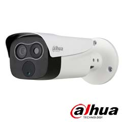 Camera IP 2MP Exterior, Termala, IR 35m, POE, Card - Dahua TPC-BF2120