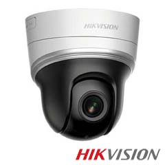 Camera IP 2MP Interior, IR 20m, POE, Slot Card, Microfon, Zoom 4x - HikVision DS-2DE2204IW-DE3