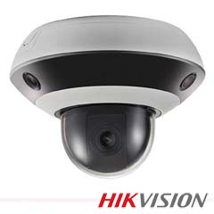 Camera IP 2MP Interior, Panoramica, IR 20m, POE+, Slot Card - HikVision DS-2PT3326IZ-DE3