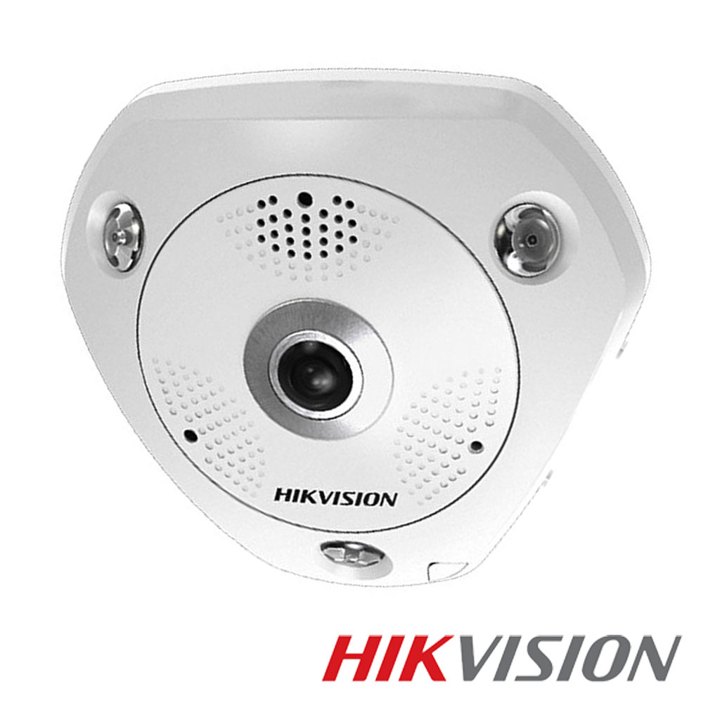 camera ip 3mp 360 exterior ir 15m poe card lentila hikvision ds 2cd6332fwd ivs