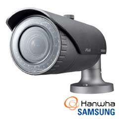 Camera IP 3MP Exterior, Zoom 3x, IR 30m, POE, Slot Card - Samsung SNO-7084R